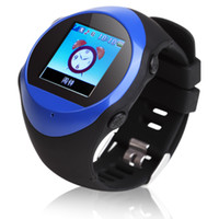 Wholesale GPS Tracker Watch Phone PG88 GPS locator SOS Surveillance tracking Wrist Watch