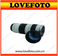 Wholesale Caniam Series Lens EF70 mm F Coffee Cup Thermos Mug White