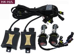 Акций США! 55W HID Ксенон Conversion Kit H1 H4 H7 H10 / 9005 9006 4300k 6000k светодиодные лампы