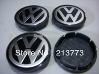 Wholesale 4pcs Wheel Center Caps Hub Cap for VW Polo Golf Passat Bora Bettle Jetta P N NO