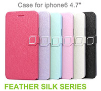 High Quality material best product packaging - The Best Product Flip Hard Case Cover Card Holder Fashion Cases For iPhone iphone6 Case Colors with package CW0270
