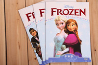 story book comic books - 2014 Hot FROZEN Story Book Kid s Educational Book Ice and Snow Comic Book Elsa Storybook