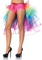 Ruffled dance costumes - stage wear Hot Selling costumes Festival Ruffles Colorful Skirt Cheap New Fashion Party Skirt sexy dance costumes