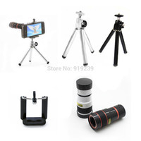 palm telephoto len sony-ericsson NEW 8X Universal Telescope Telephoto Long Focal Camera Lens for iPhone Mobile Phone Smartphone with Mini Tripod Holder Monocular