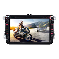 Wholesale 8 inch HD Capacitive Screen Android OS Double Din Car Radio WIFI G GPS Navi FM AM Radio BT Car DVD Player for Volkswagen