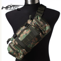 Wholesale HFIRE Military Utility Duffle Shoulder Bag Shoulder Pack Bag Tactical Molle Backpack Camping Hiking Trekking Bag WD