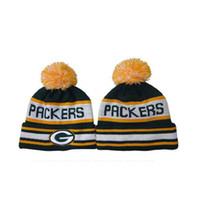 Wholesale Packers Beanies Top Quality Sports Team Beanie Hats Mens Womens Knitted Caps Winter Snow Beanies Autumn Hats Caps Ski Beanies