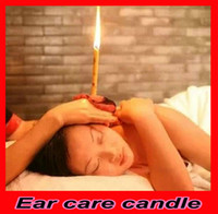 Wholesale 10pcs pairs Natural physical aromatherapy Beewax Ear Care Candles Health care