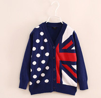 New Arrivals Children Sweater Brand Girls Winter Knitwear Fl...
