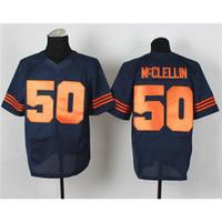 Wholesale Shea McClellin Blue Football Clothing New Football Jerseys Discount Athletic Apparel Hot Sale Sport Jerseys