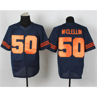 Wholesale Shea McClellin Football Jerseys New Style Blue Orange Name Number Sewn On Brand Sport Jersey High Quality Cheap Stitched Jerseys