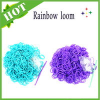 Link, Chain Silicone  2bags lot 400pcs loom bands and clips Mix colorful Silicone Bracelet Crazy DIY Cheap Elastic Wholesale Rubber Loom Bands