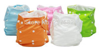 Wholesale Hotsell New Colors Unisex Adjustable Baby cloth Nappy Diaper Reusable Washable Cloth for infant training pants insert PY