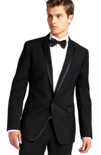 2015 New Men Wedding Prom Clothing Tuxedos Bride Groom Suit ...