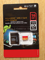 Wholesale 16GB GB GB Class10 PRO Micro SD TF Card Micro SDHC UHS HD Video SD Memory Card for Android Tablet PC up to MB s x