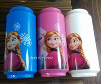 Wholesale Create snow and ice frozen water cup cola button cup elas Anna children cups Avirulent insipidity
