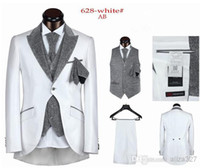 Free shipping 2014 hot sale Mens Suits Wedding Groom suit me...