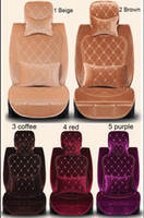 Seat Covers & Supports car seat covers - Winter embroidery fabric royal wind female car seat cover four seasons general barrowload seat set
