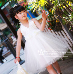Wholesale 2014 New Summer Girl Print Dress Brand Princess Dress With Bow For Girls Girl Dress For Wedding