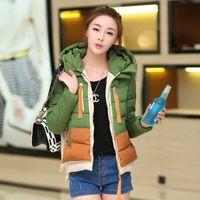 Wholesale Womens Candy Color Down Coat Winter Coat Duck Feather Down Coat Women Down Jacket Plus Size Parka Fashion Clothing