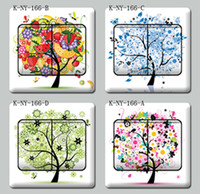 Wholesale Yi gifted family tree switch stickers sticker color film does not leave adhesive K NY
