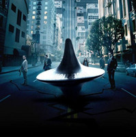 Wholesale from the Inception Movie Spinning Top with Zinc alloy silver Inception Stainless Steel Spinning Top Totem