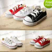 2014 free shipping Boy&girl Children' s Canvas Shoes kid...
