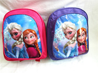 Wholesale New Frozen Children School Bags Baby Kids Backpack Anna Elsa preschool bags Kids Cartoon School Bag