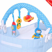 Cloth 0-12 Months Hessie Hessie Brand 2014 New 4 Pcs Lot Baby Boy Toy Spaceman Design Baby Mobile Rattle Toy For Baby Bed and Stroller Free Shipping