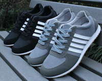 Men tenis - Black White Color Sneakers For Men Sport Casual Shoes Flats Board Leather Necessary For Travel Mesh Tenis Men s Running Shoes