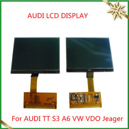 Wholesale LCD CLUSTER DISPLAY For AUDI TT S3 A6 VW VDO OEM Jeager Audi Lcd Display