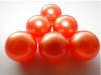 Wholesale Hot g Orange Pearl Round shaped Bath Oil Beads Lavender Fragrance Bath SPA Products Bath Pearls