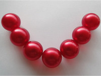 Wholesale Hot OEM g Red Pearl Round shaped Bath Oil Beads Peach Fragrance Bath Oil Pearls SPA