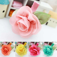 Wholesale Hot Helling fashion kids Baby accessories children girls hair ornaments hair bands hair clips flower