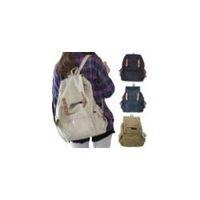 Wholesale Hot sale Unisex Canvas Backpacks Schoolbag Travel Casual Climb Handbag Shoulder Bags B415