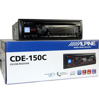 1 DIN Special In-Dash DVD Player 3.5 Inch car dvd Original Alpine Car CD PLAYERS CDE-150C CD MP3 WMA Cd Aux FM