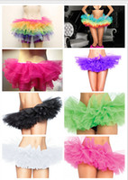 Wholesale 2014 Colorful Festival Ball Gown Petticoat Crinoline Layered New Arrival Tulle Halloween Bridal Wedding Dresses Custom Made Christmas