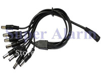 Wholesale to DC Power Adapter Splitter Cable for Security CCTV Camera Systems