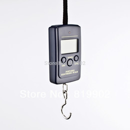 Wholesale-Christmas Offer Factory Price 40kg 10g Electronic Portable Mini Digital Hook Fish Lage Scale 500pcs
