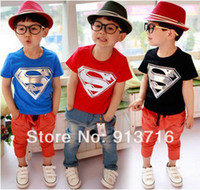 Girl Spring / Autumn Yes Children Kids Clothing Tees,Cool Superman Baby Boys T Shirts For Summer,Children Outwear Baby T-shirt Hot Sale free shipping