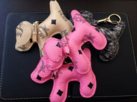 Bag Hanger bag hanger hook - Fashion MCM Classic Backpack Hook Korean Stylish High Quality PVC Keychain Rivets Handbags Schoolbag Accessories