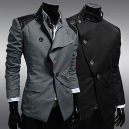 Wholesale British Fashion Men s Blazer Fashion Blazer Single Breasted Business Suit New Ultra Collection Jacket