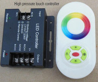 AC 220V  AC 110-220V Wireless LED Controller RF Touch Panel LED Dimmer RGB Remote Controller for RGB LED STRIP LIGHT