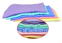 Brush Stretch and tear resistant 60 g 3PCS Free Shipping Car Dry Washing Cloth Wipe Cleaning Towel Synthetic Chamois Leather Absorber 2mDss