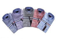 Wholesale new men long sleeve shirt free cufflinks men dress shirt men shirt mens dress shirts fashion men s shirt chea