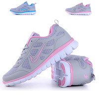 Wholesale Free Run Bareboot Running Shoes Flexiable Athletic Shoes WoMen Walking Shoes table tennis shoes Color Blue Pink