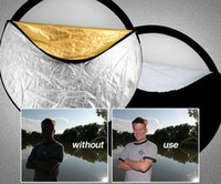 Wholesale 43 quot Photography in Multi Photo Disc Collapsible Studio Reflector cm Photo Studio Accessories Reflectors
