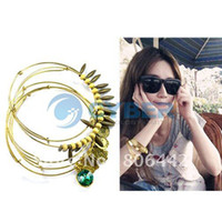 Charm Bracelets Women's Fashion Women Fashion Bohemian Wooden Beads Vintage Charm Bracelet Bangle 5pcs Set Gift Free Shipping