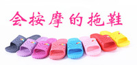 Wholesale Home slippers winter summer Massage bathroom antiskid plastic summer indoor slippers Sandals Non slip Couples slippers