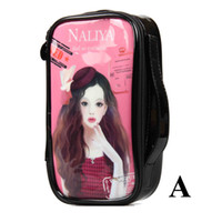 Wholesale Leather Make up bag Travel Cosmetic Bag Make Up Case Korea Design Hot Sell In Stock